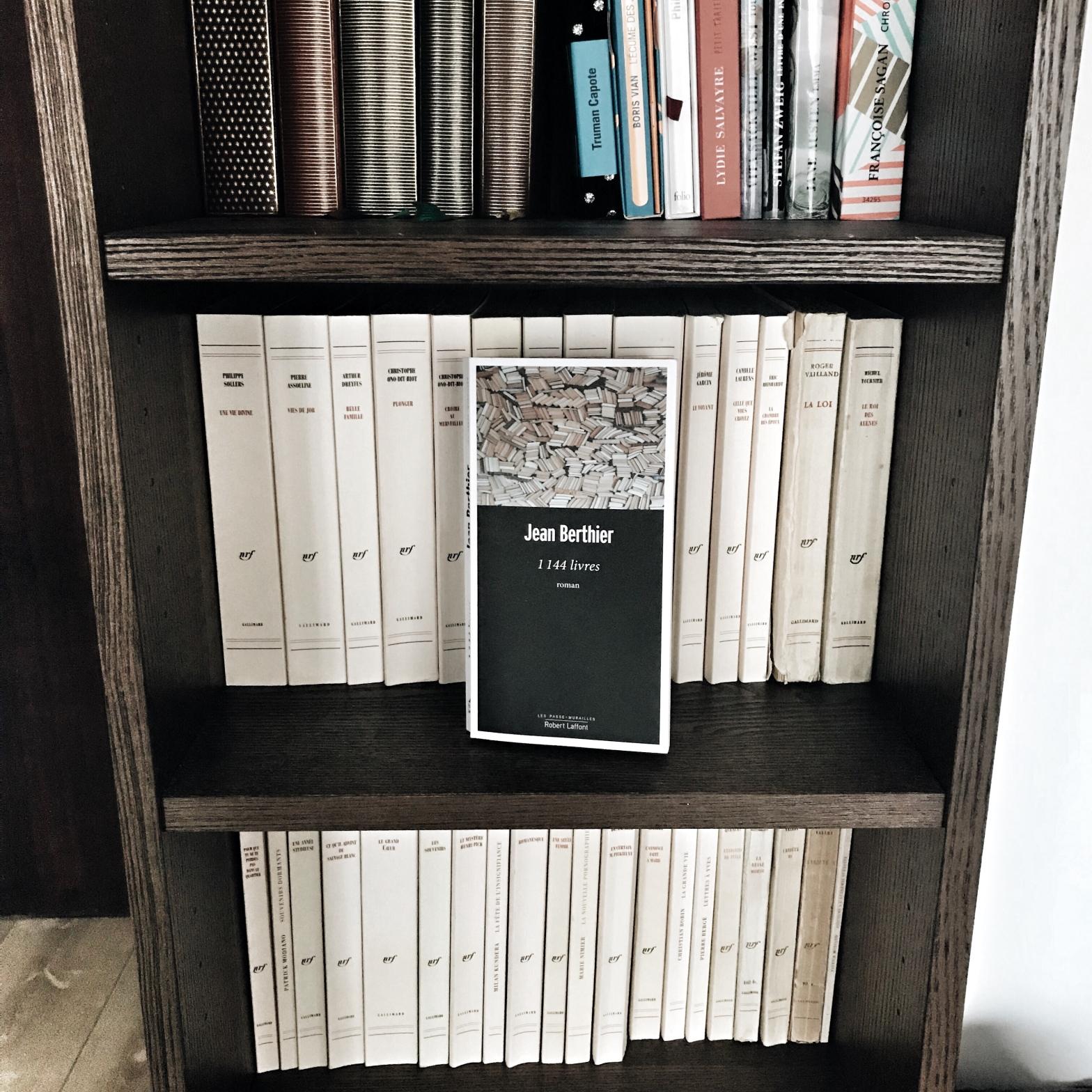 1144 livres, de Jean Berthier