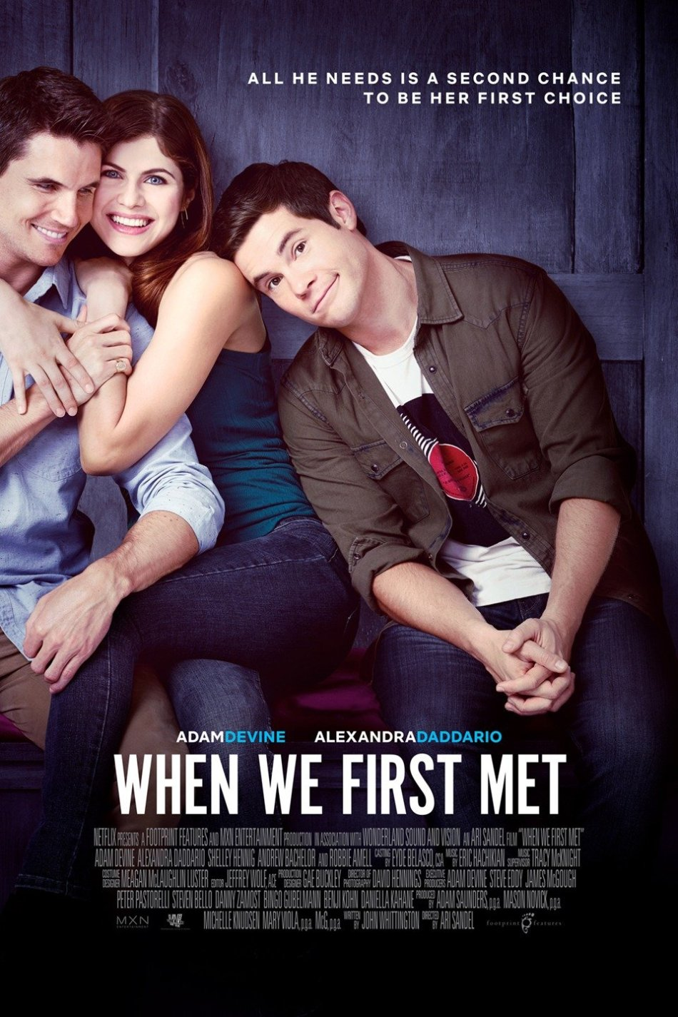 When we first met, de Ari Sandel