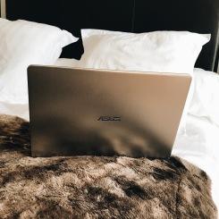 Ecrire dans mon lit