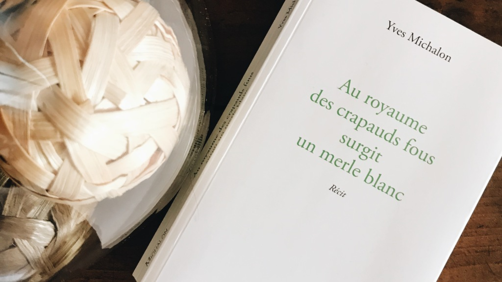 Au Royaume des crapauds fous surgit un merle blanc, d'Yves Michalon