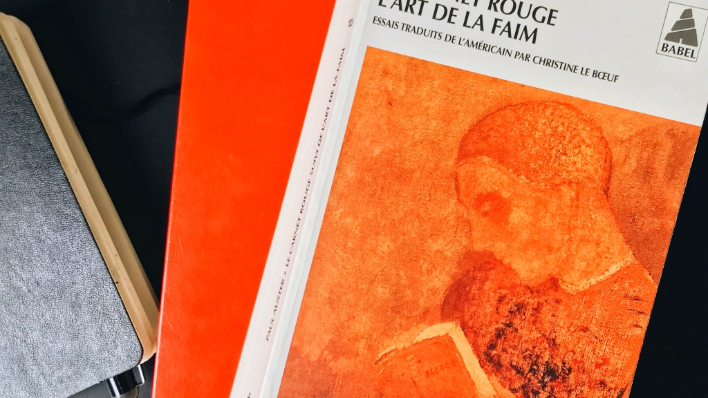 Le Carnet rouge/L'art de la faim, de Paul Auster