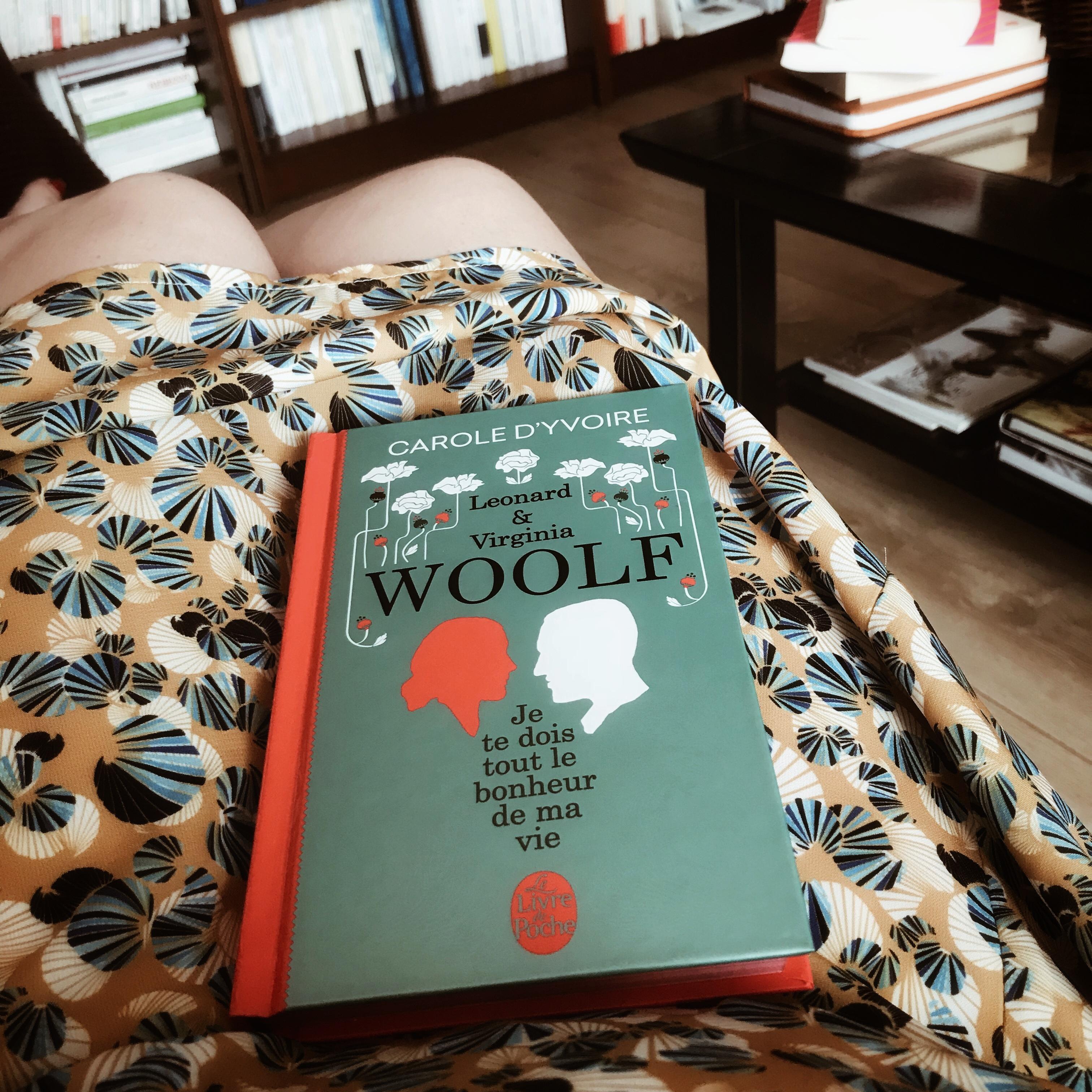 Leonard & Virginia Woolf. Je te dois tout le bonheur de ma vie, de Carole d'Yvoire