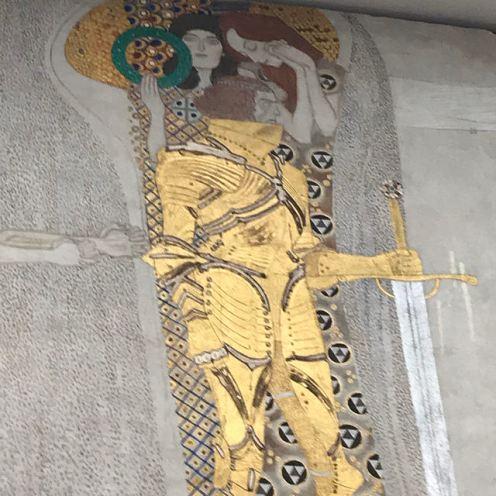 Palais de la Sécession - Klimt, frise Beethoven