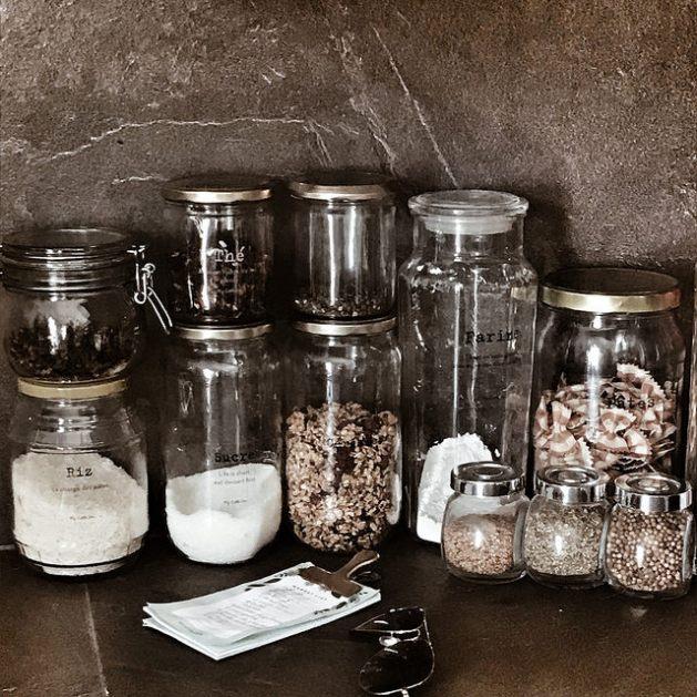 Kitchen decor : les bocaux en verre