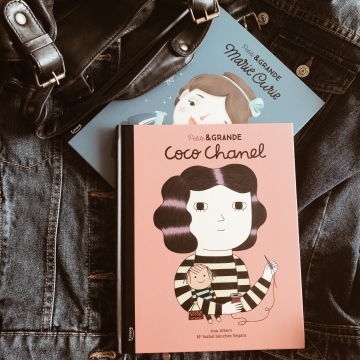 Petite et grande Coco Chanel / Petite et grande Marie Curie, de Ma Isabel Sanchez Vegara