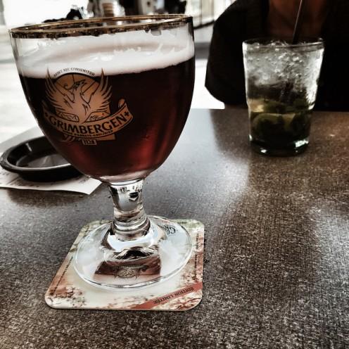 Un verre en terrasse