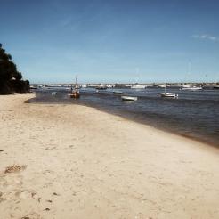 Un petit bout de plage désert