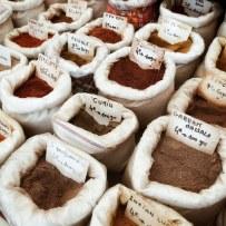Les épices du marché