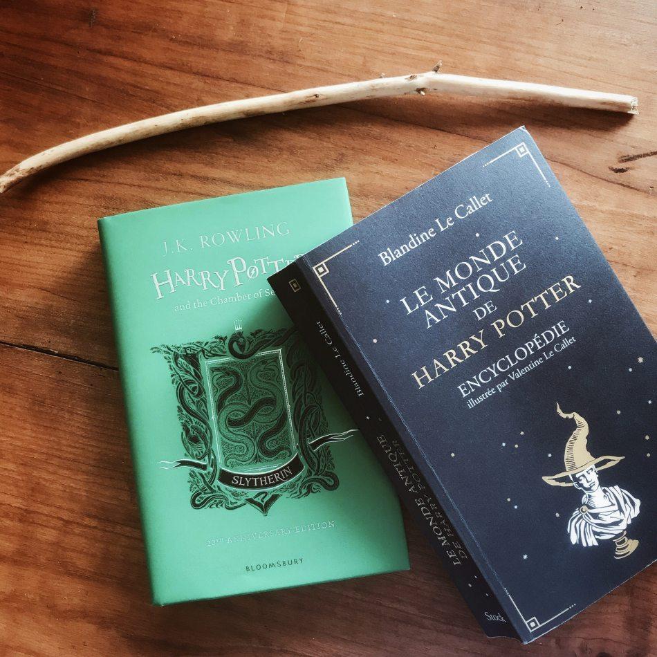 Le Monde Antique De Harry Potter De Blandine Le Callet Et