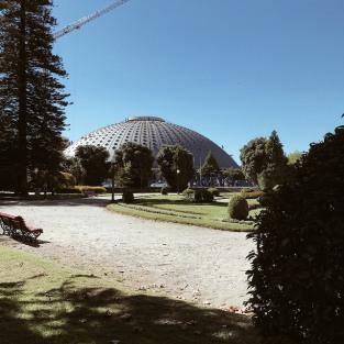 Jardim do Palàcio de cristal