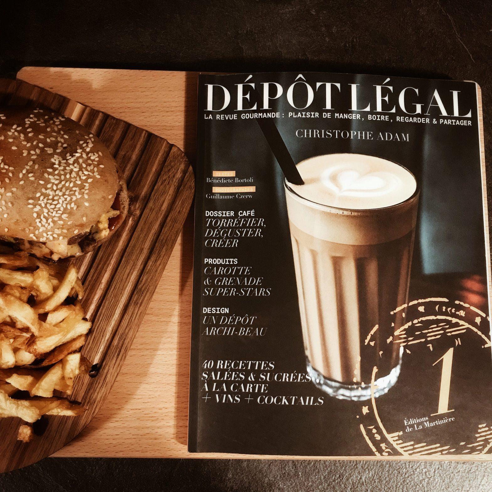 Dépôt légal : la cuisine comme art de vivre