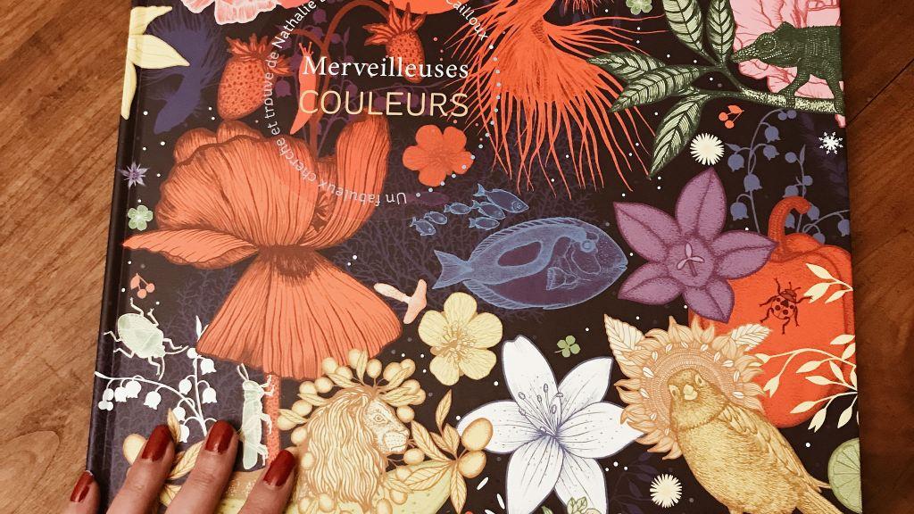 Merveilleuses couleurs de Nathalie Béreau et Michael Cailloux : plein les yeux