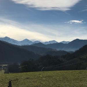 Des montagnes pour commencer l'année