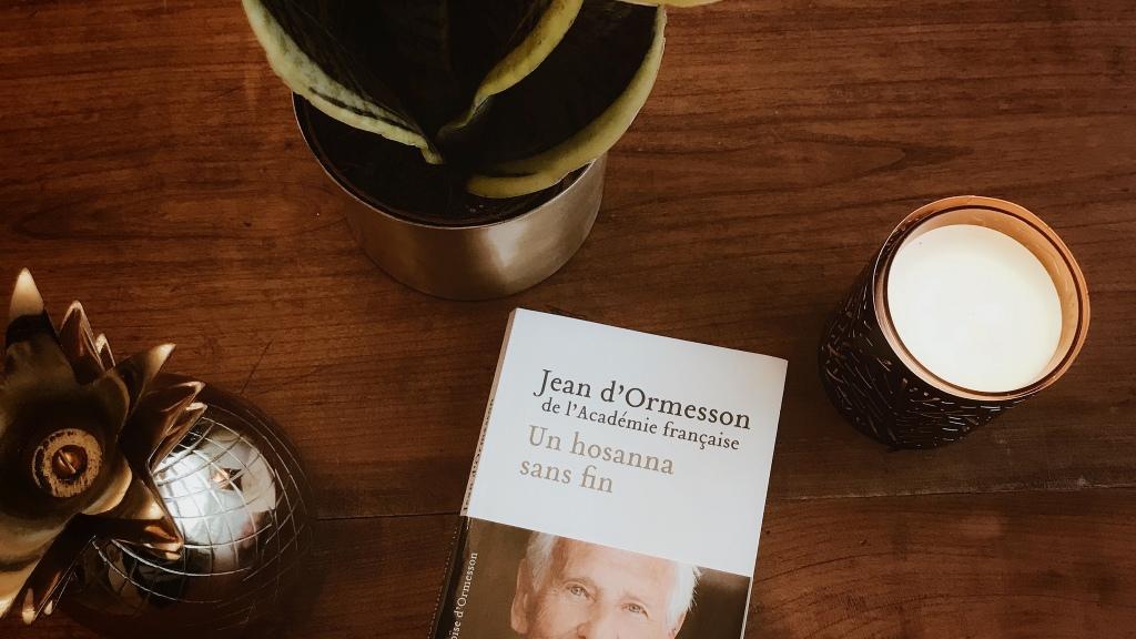 Un hosanna sans fin, de Jean d'Ormesson : pourquoi quelque chose plutôt que rien ?