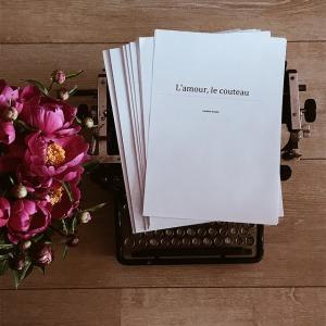 Ecrire toujours et trouver le titre