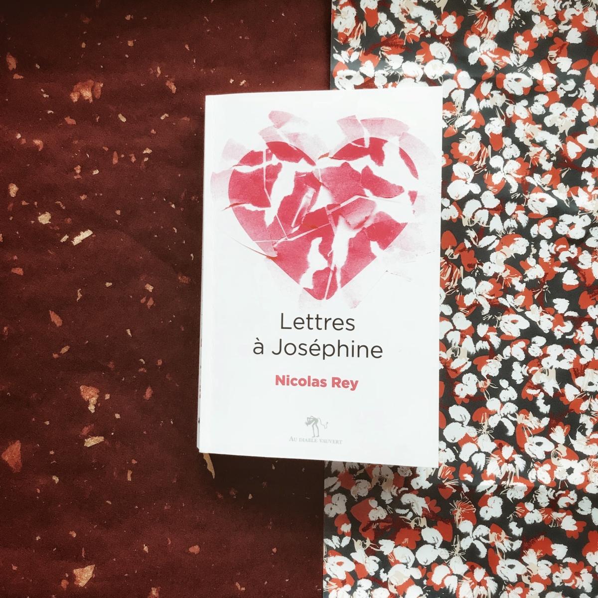 Lettres à Joséphine, de Nicolas Rey : l'amour inguérissable