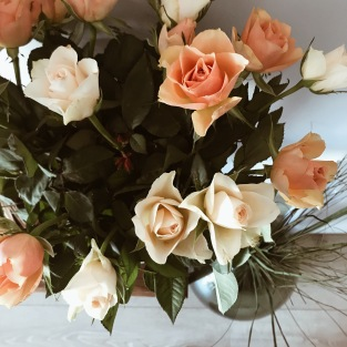 Des roses apaisantes