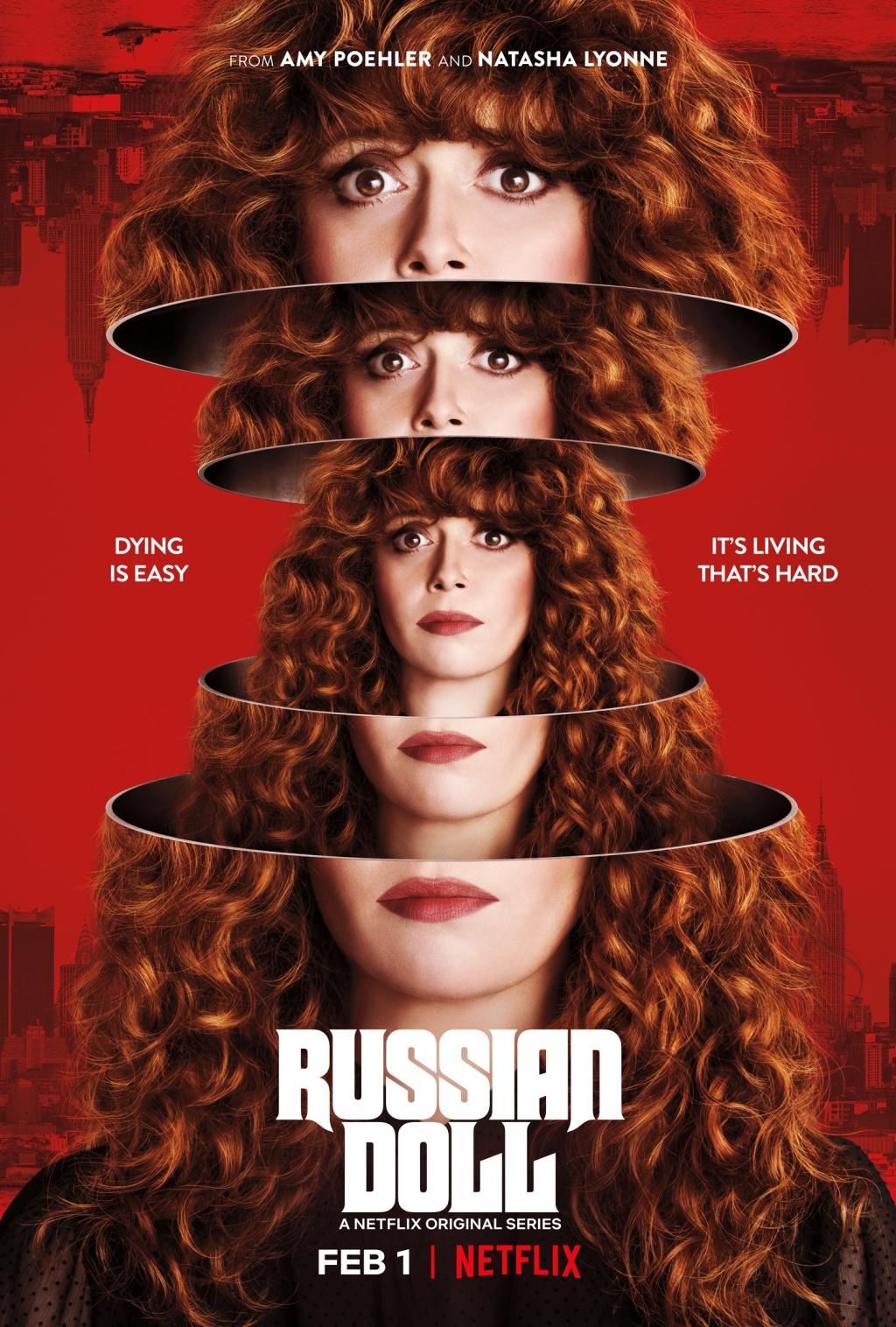 Poupée Russe de Natasha Lyonne, Amy Poehler et Leslye Headland : l'Éternel retour
