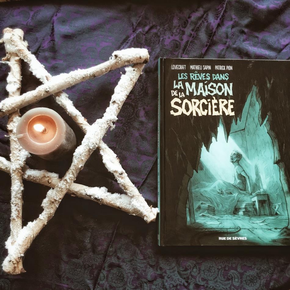Les rêves dans la maison de la sorcière de Howard Phillips Lovecraft, Mathieu Sapin et Patrick Pion : nuits de cauchemars