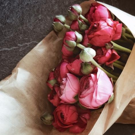 Bouquet de renoncules