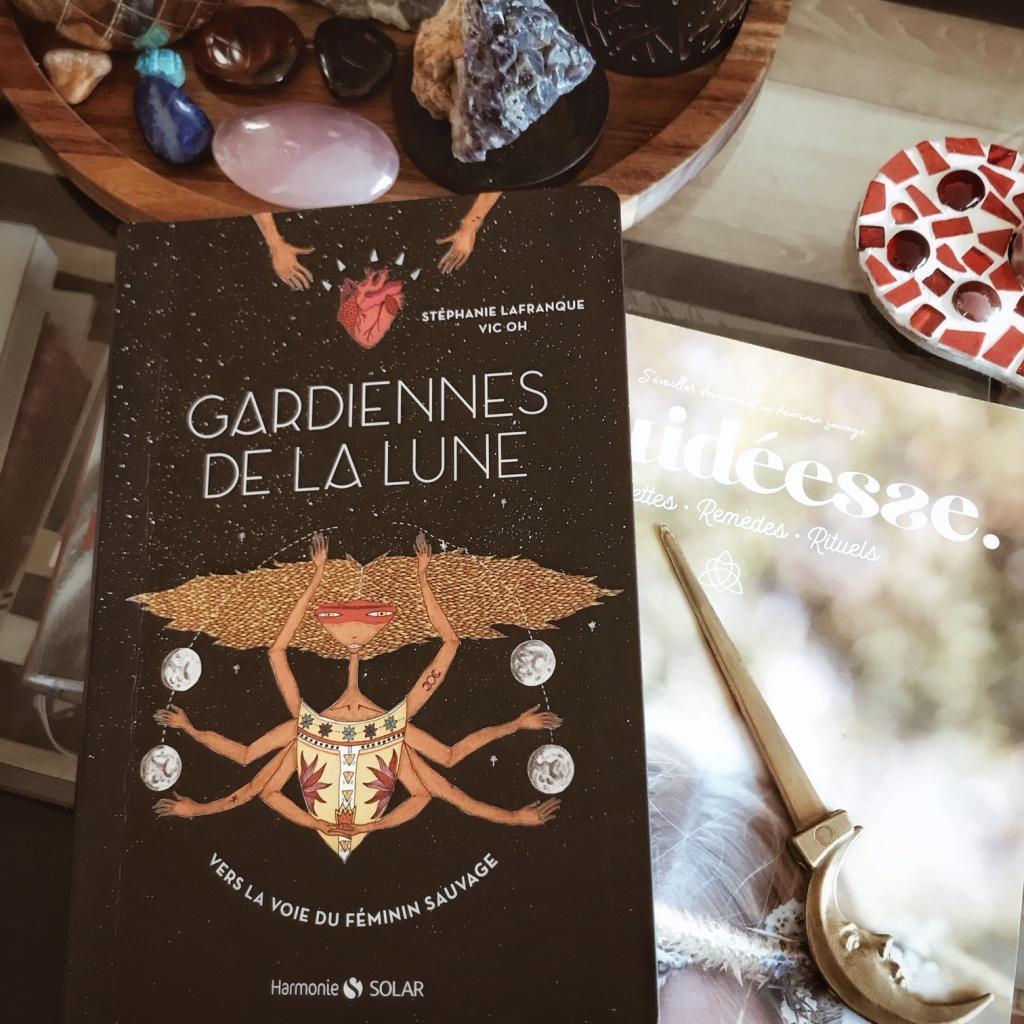 Gardiennes de la Lune de Stéphanie Lafranque et Vic Oh : vers la voie du féminin sauvage