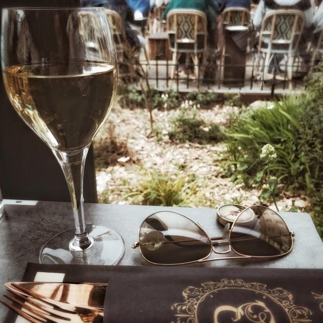 Le premier déjeuner en terrasse de l'année