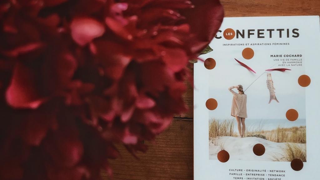 Les confettis : inspirations et aspirations féminines