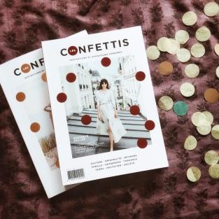 Une pluie de confettis