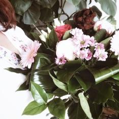 Dans un grand vent de fleurs