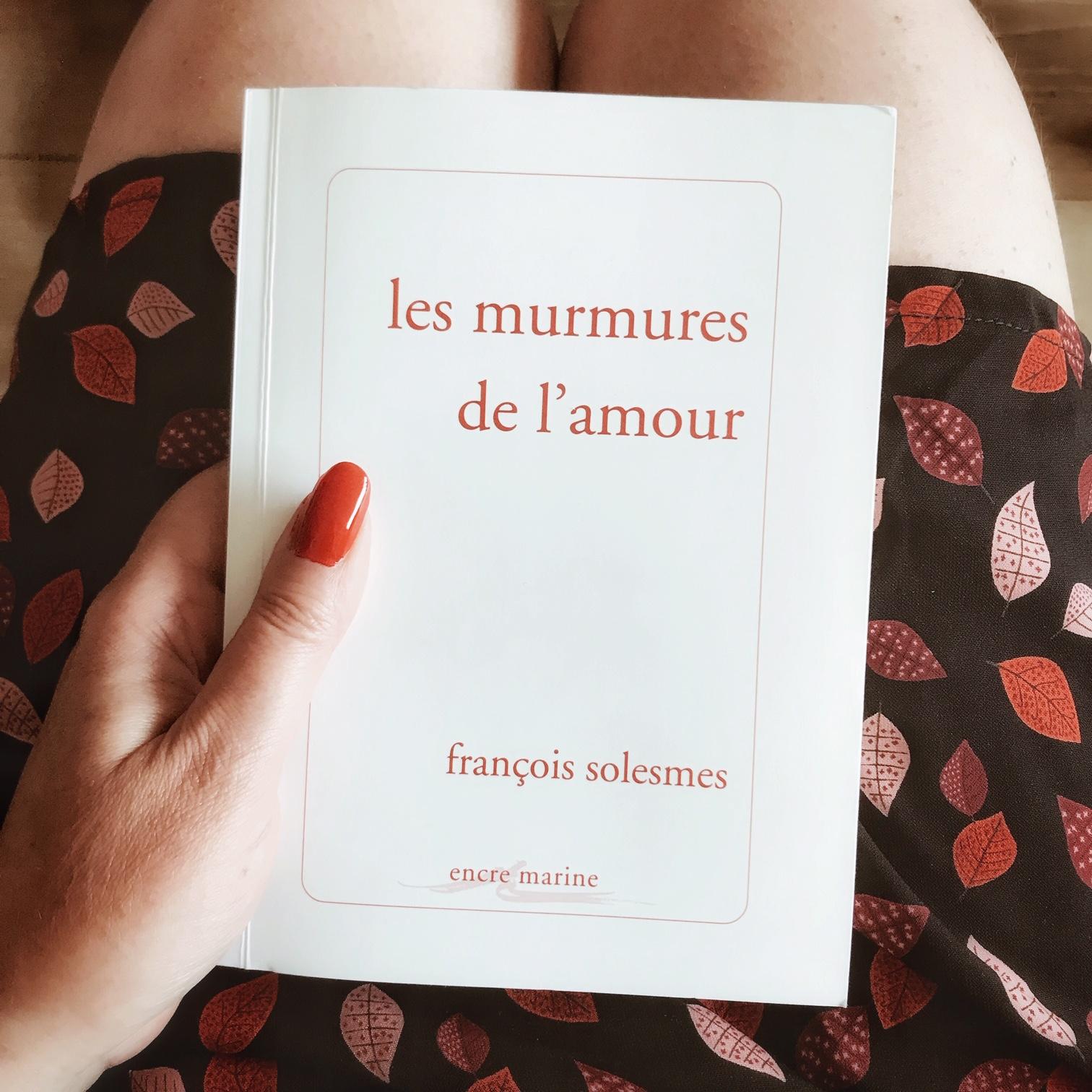 Les murmures de l'amour, de François Solesmes : la religion d'aimer