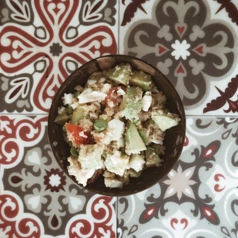 Manger - salade à plein de trucs