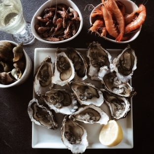 Plateau de fruits de mer de rentrée