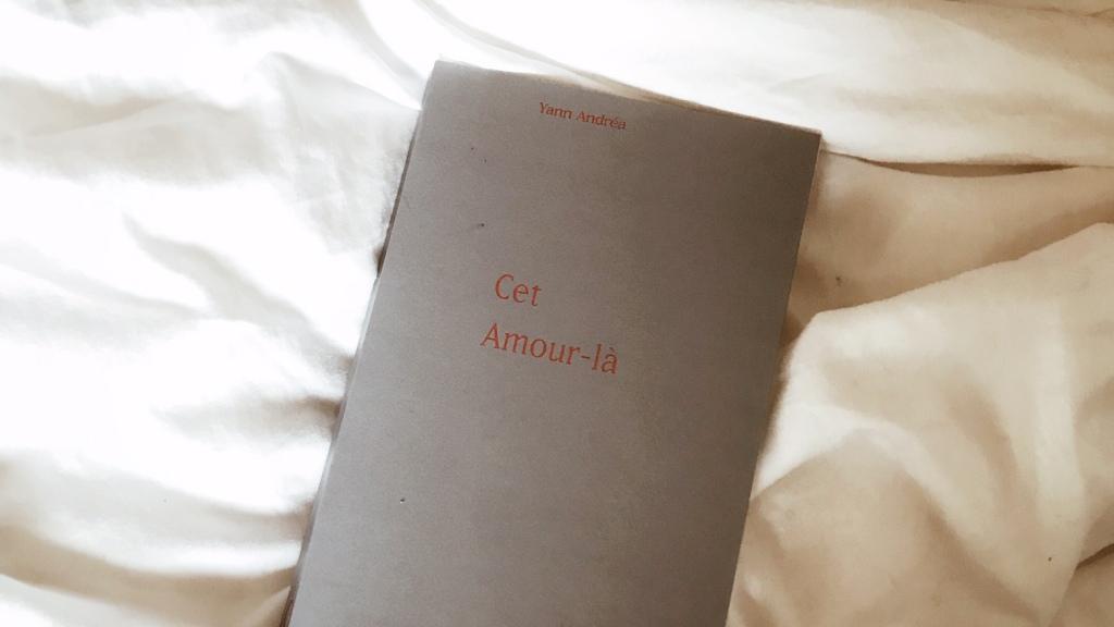 Cet amour-là, de Yann Andréa : une histoire de l'amour