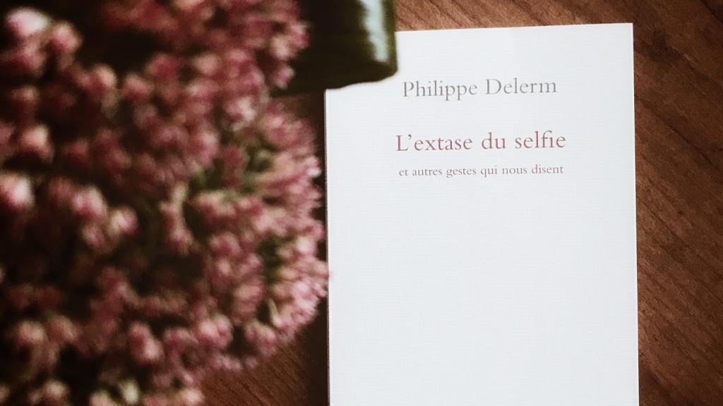 L'extase du selfie et autres gestes qui nous disent, de Philippe Delerm : parler sans mots