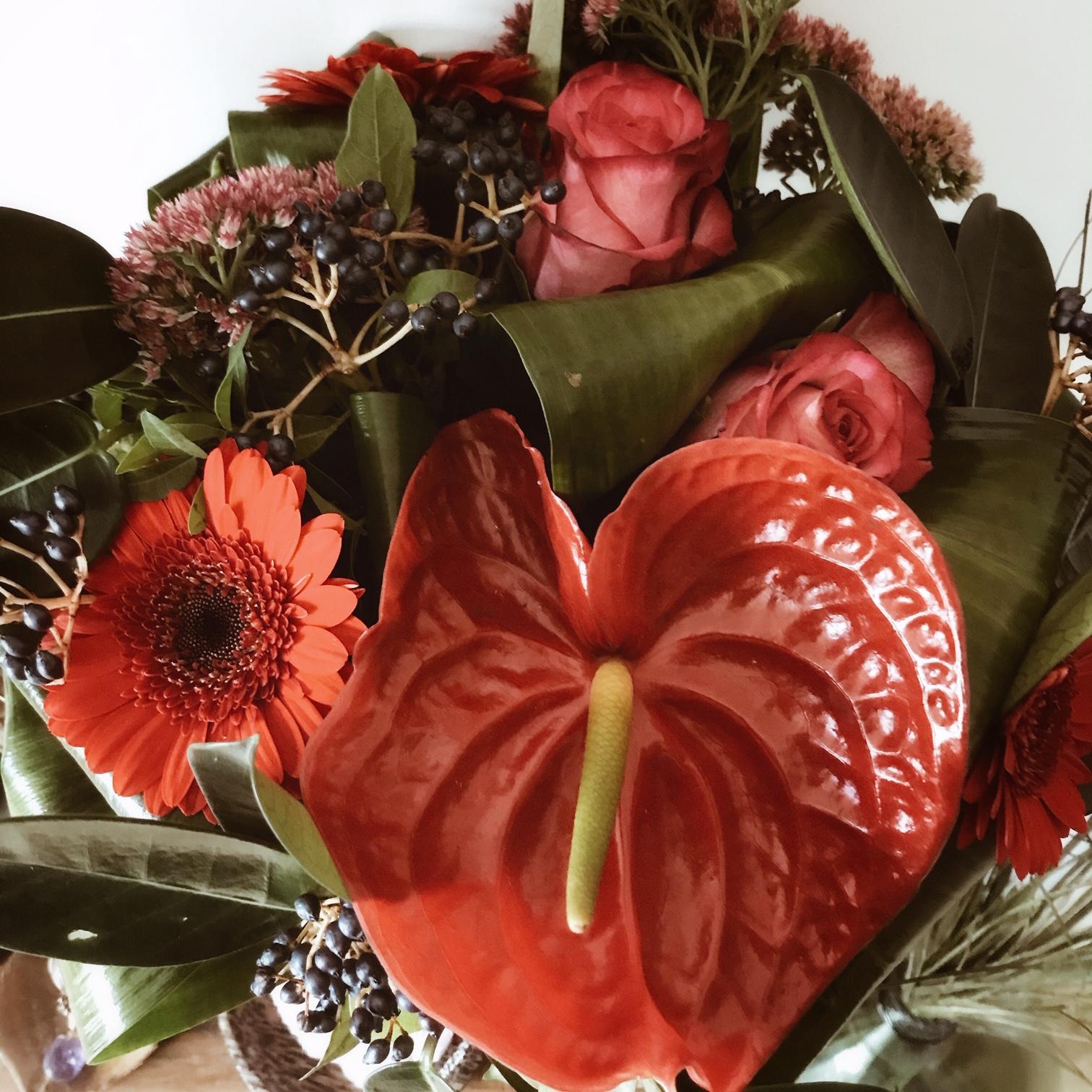 Un bouquet de fleurs