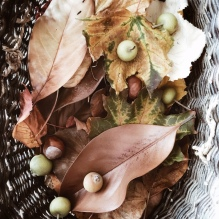 Panier d'automne
