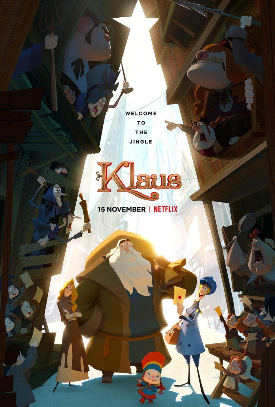 Klaus, de Sergio Pablos : le plus poétique des films de Noël