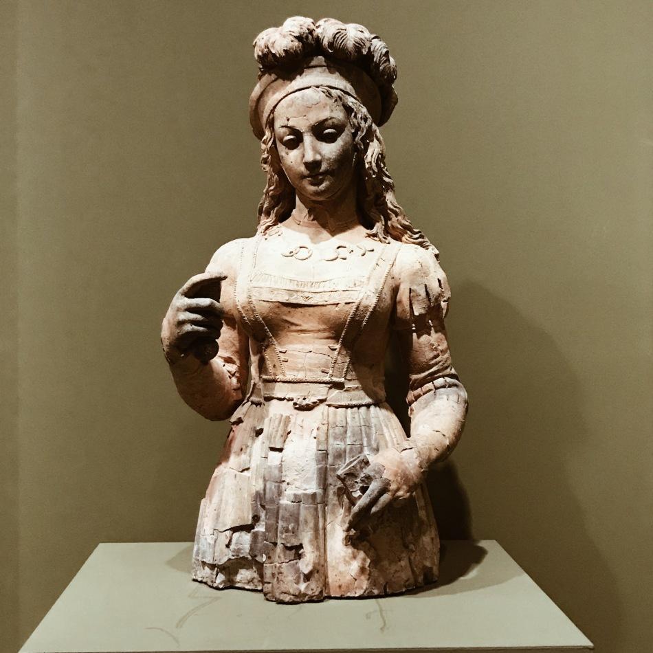Buste de Jeanne d'Arc