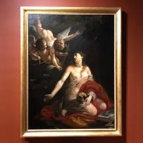 Anonyme, sainte Madeleine pénitente et deux anges, milieu du XVIIe