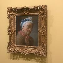 Chardin, autoportrait aux bésicles, 1773