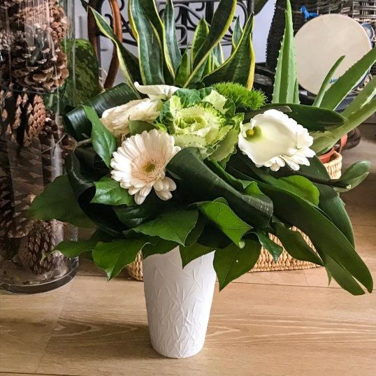 Quelques fleurs blanches
