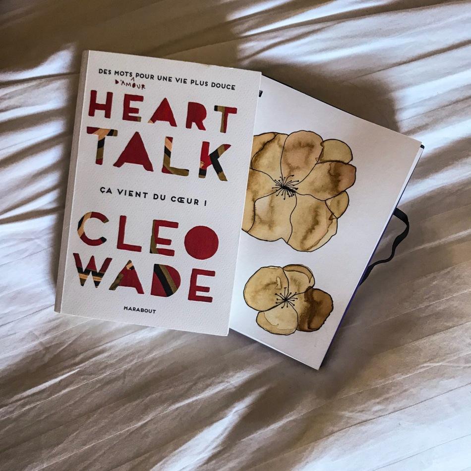Heart talk, ça vient du cœur de Cleo Wade : des mots d'amour pour une vie plus douce