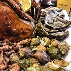 Plateau de fruits de mer du jour de l'an