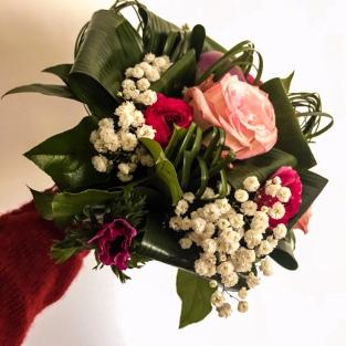 Le premier bouquet de l'année