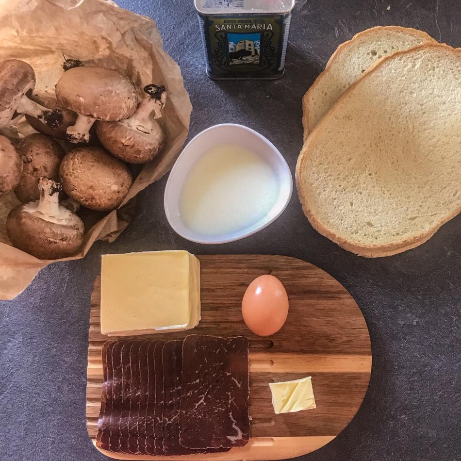 Tartine montagnarde façon pain perdu