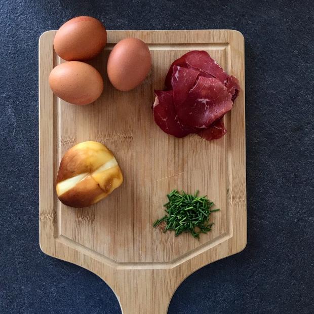 Omelette aux saveurs de l'Italie