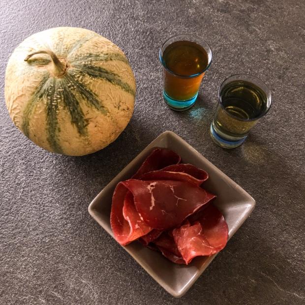 Melon au Porto revisité