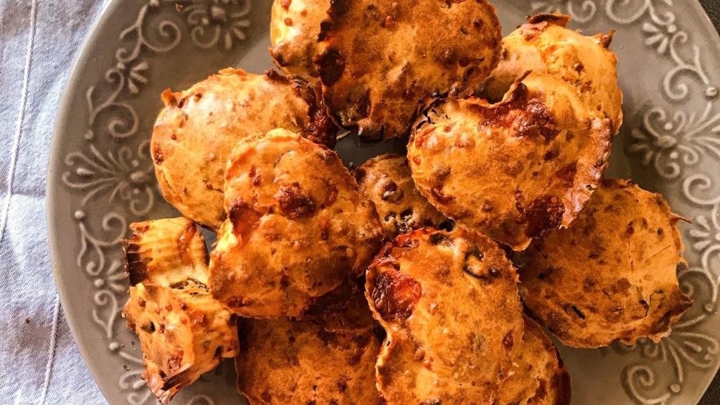 Muffins salés aux saveurs d'Italie
