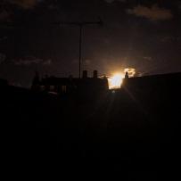 Lune presque pleine