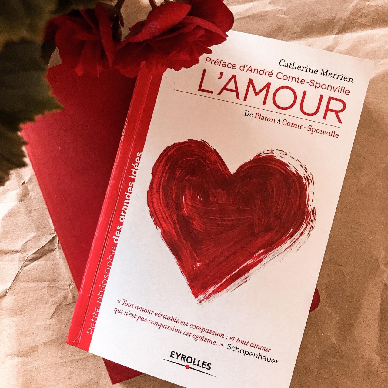 L'Amour de Platon à Comte-Sponville, de Catherine Merrien : penser le sentiment amoureux